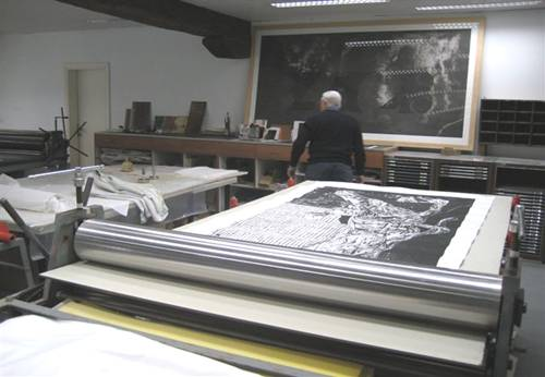 Photo from the Venice Printmaking Studio