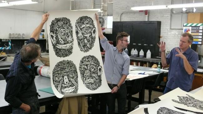 Bill Fick, striking full zombie pose...